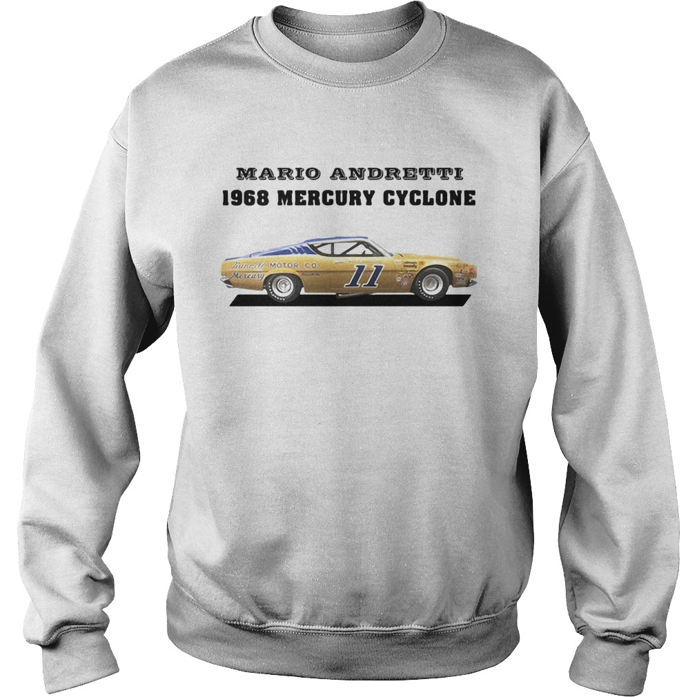 Mario andretti racing athletes 1968 mercury cyclone  Sweatshirt