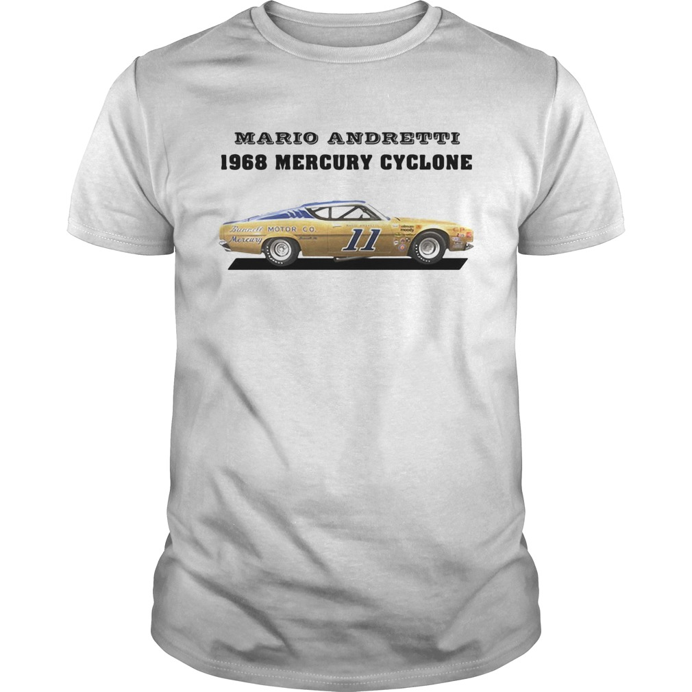 Mario andretti racing athletes 1968 mercury cyclone  Unisex