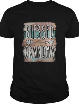 Mother day Blessed grandma shirt