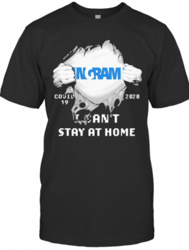 Blood Insides Ingram Covid 19 2020 I Can'T Stay At Home T-Shirt