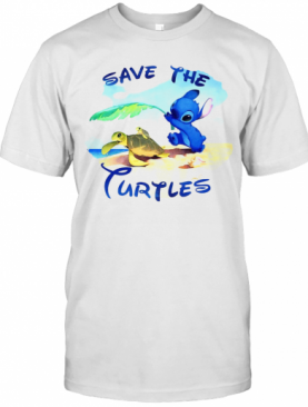 Stitch Save The Turtles T-Shirt