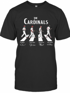 The Cardinals Abbey Road Signatures T-Shirt