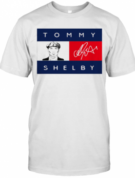 Tommy Hilfiger Peaky Blinders Tommy Shelby Signature T-Shirt