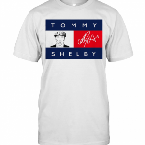 Tommy Hilfiger Peaky Blinders Tommy Shelby Signature T-Shirt Classic Men's T-shirt