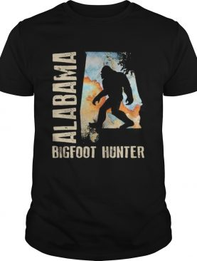 Alabama bigfoot hunter sunset shirt
