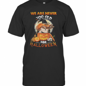 Owl We Are Never Too Old For Halloween T-Shirt Classic Men's T-shirt