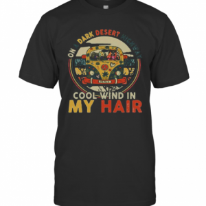Peace Bus Elephant On A Dark Desert Highway Cool Wind In My Hair T-Shirt Classic Men's T-shirt