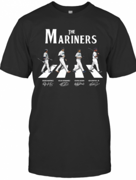 The Mariners Abbey Road Signatures T-Shirt
