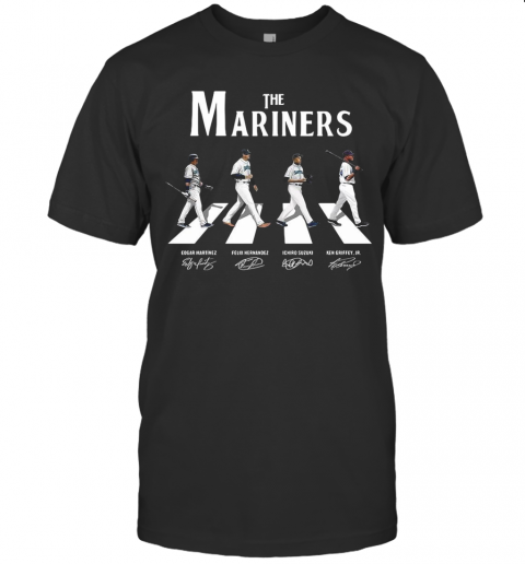 The Mariners Abbey Road Signatures T-Shirt Classic Men's T-shirt