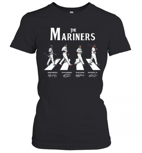 The Mariners Abbey Road Signatures T-Shirt Classic Women's T-shirt