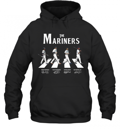 The Mariners Abbey Road Signatures T-Shirt Unisex Hoodie