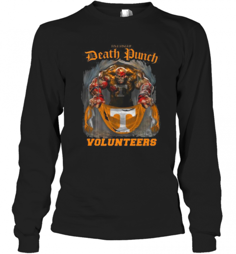 Thor Five Finger Death Punch Volunteers Tennessee T-Shirt Long Sleeved T-shirt