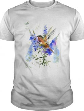 WATERCOLOR BIRD shirt