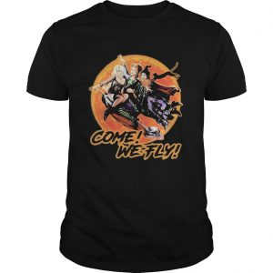 Witch Come we fly sunset  Unisex