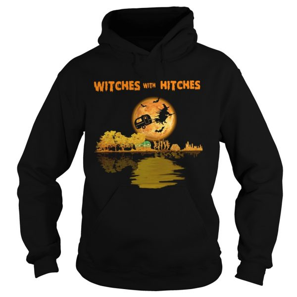 Camping Witches With Hitches Halloween  Hoodie