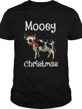 Cow Light Mooey Christmas shirt