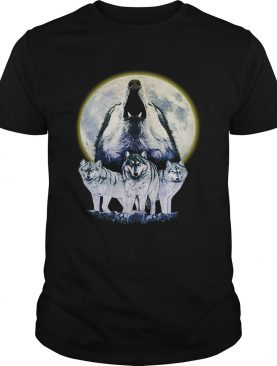 Howl At The Moon Vintage Wolf shirt
