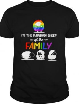 I'm the rainbow sheep of the family lgbt color shirt