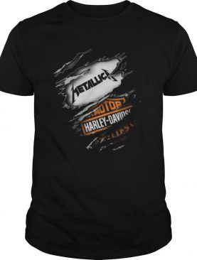 Metallica Motor Harley Davidson Cycles Blood Inside Me shirt