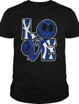 New York Yankees Jack Skellington And Sally Love shirt