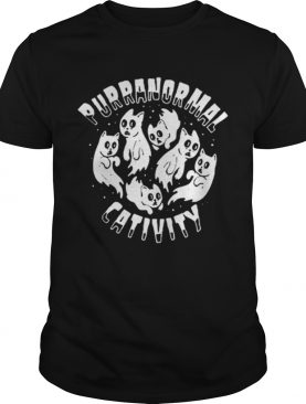 Puranormal Cativity Cat Halloween shirt