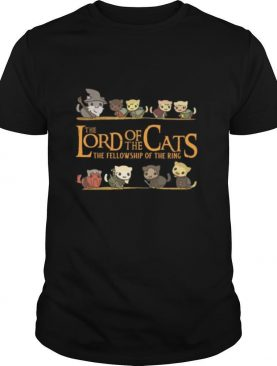 The Lord Of The Cats The Fellowship Of The Ring shirt