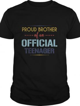 teenager Brother 13th birthday Brother party gifts shirt