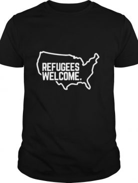 Refugees Welcome American shirt