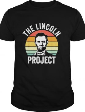 The Lincoln Project Retro shirt