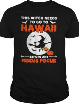 This Witch needs to go to Hawaii before any Hocus Pocus Halloween shirt
