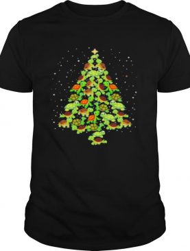 Turtles Ugly Christmas tree shirt