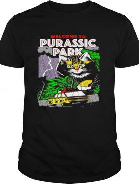 Welcome To Purassic Park Cat shirt