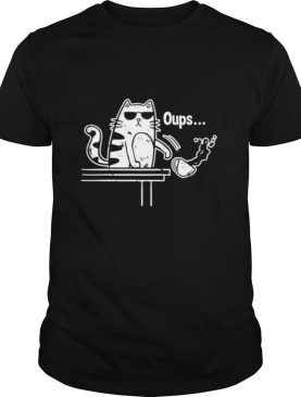 Cat Oups Coffee shirt