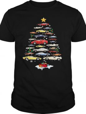 Lamborghini Cars Merry Christmas Tree shirt