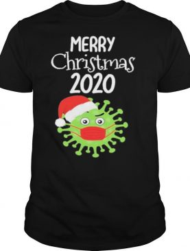 Merry Christmas 2020 Quarantine Christmas Viruscorona shirt