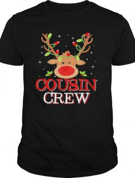 Reindeer Light Cousin Crew Christmas shirt