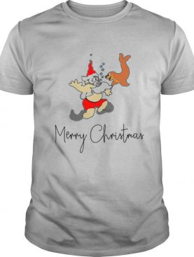 Santa Merry Christmas shirt