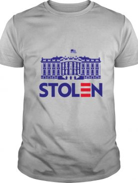 Stolen white house rigged 2020 election fraud trump shirt