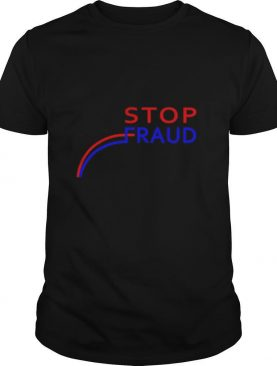 Stop Fraud Presidential Election Vote Graph Chart shirt