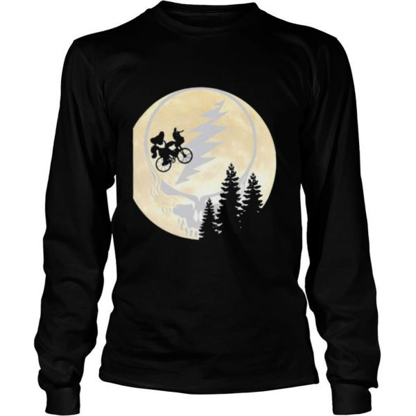 Bear Cycling The Moonblood Grateful Dead shirt
