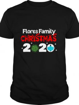 Flores Christmas 2020 Mask Corona Virus shirt