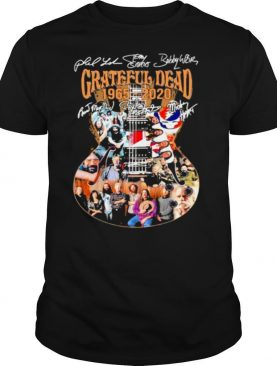 Grateful Dead 1965 2020 Signuature Guitar shirt