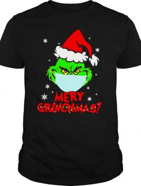 Grinch Wear Mask Covid 19 Merry Christmas shirt