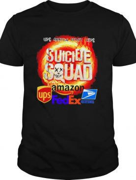Suicide Squad Amazon Ups FedEx and United States Postal Servce shirt