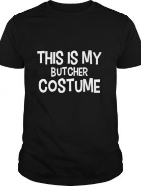 This is my BUTCHER Costume shirt