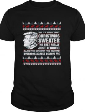 Trump Ugly Christmas Sweater The Best Really shirt