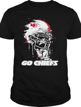Go Chiefs Kansas City Football Skull shirt