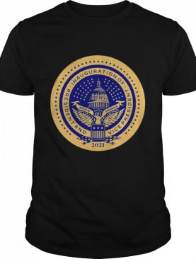 Inauguration of president and vice president 2021 shirt