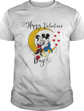 Mickey Mouse And Minnie Mouse Happy Valentines Day Valentines Day shirt