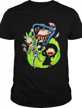 Rick Sanchez Morty Beetlejuice Cartoon shirt